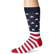 K. Bell Socks Men's American Flag Sock
