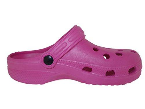 Zallies - Zapatillas De Jardín Impermeables Para Mujer - Colores Surtidos Fucsia