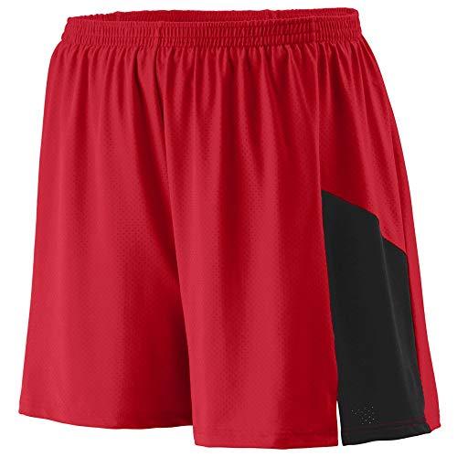 - Augusta Sportswear Men's Sprint Short L Red/Black