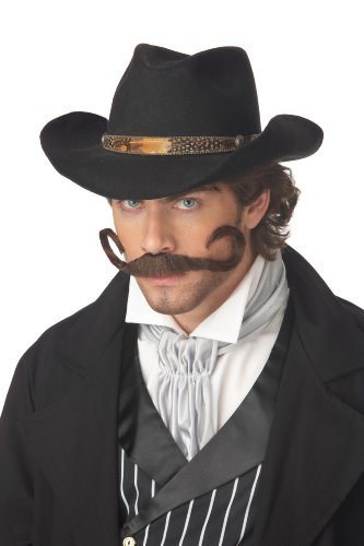 [California Costumes Gunslinger Moustache] (Costumes With Moustaches)