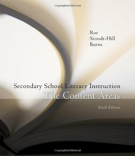 Secondary School Literacy Instruction (Available Titles CourseMate)