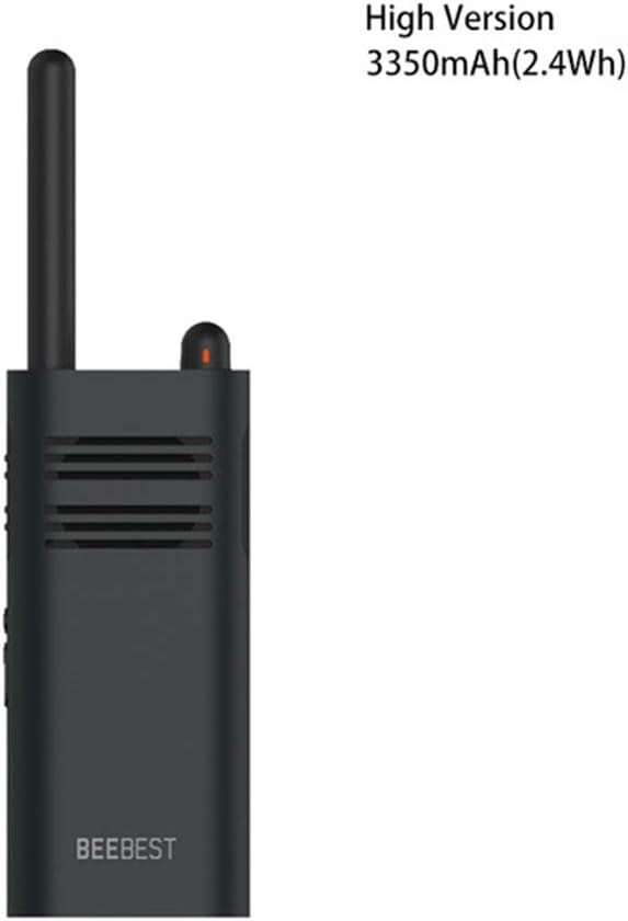 Beebest Xiaoyu Walkie Talkie Portátil de Mano Batería de Gran Capacidad Larga Espera Interfono inalámbrico (Versión Alta)