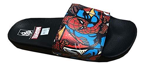 Vans X Marvel Spiderman Slide Sandals (12) Black -