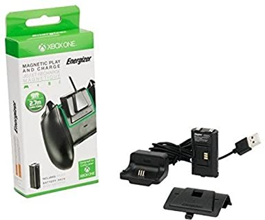 Amazon.com: PDP Energizer Xbox One Magnetic Play and Charge ...