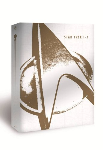 Star Trek I - X - Limited to 5000 Collector's Edition Blu-Ray Boxset