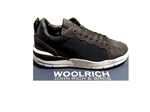 Woolrich Herren Sneaker Navy-Brown (blu-marrone)