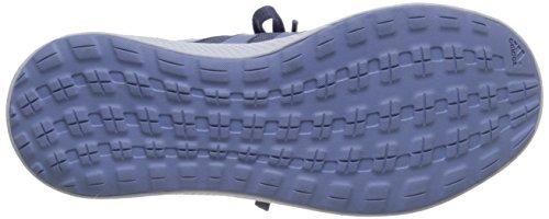 Adidas Performance fresca de rebote W zapatillas de running, negro / negro / color de rosa la mitad, Purple/Prism Blue/Solar Red