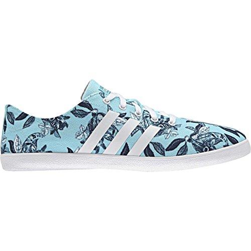 adidas CLOUDFOAM QT VULC W - Zapatillas deportivas para Mujer, Azul - (AGUCLA/FTWBLA/MARUNI) 44