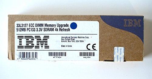 33L3127 ECC DIMM Memory Upgrade 512MB PC133 3.3V SDRAM