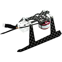 Microheli Brushless Motor 1103 13000KV w/ Carbon Fiber Landing Gear set for MH frames - BLADE NANO CP X/ S