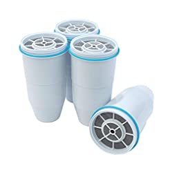 ZeroWater Replacement Filters 4-Pack BPA...
