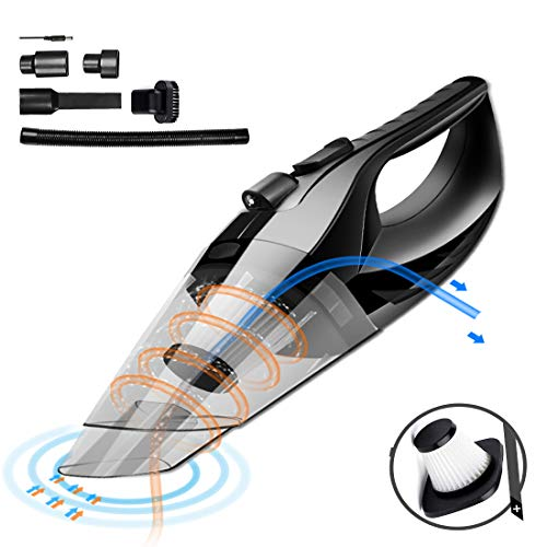 Cordless Car Vacuum Cleaner DC 12V 120W Wet Dry Auto Dustbus
