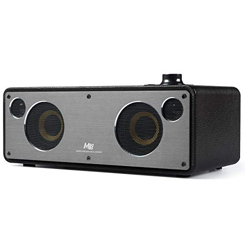 (GGMM wooden leather lap cover speaker M3 black WS-301-39 clear)