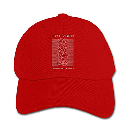 Wufive Joy Division Unknown Pleasures Cool Kids Unisex Hats One Size Red