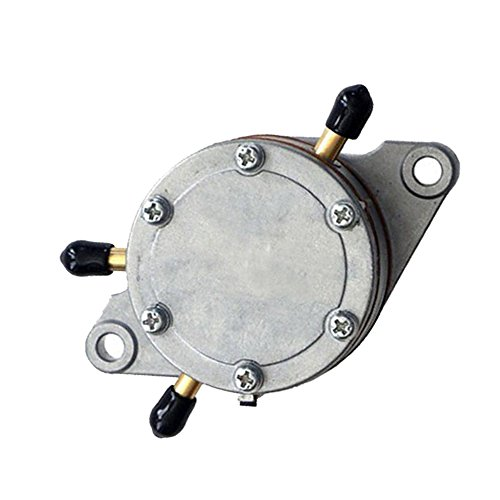 (SaferCCTV Replacement DF52-176 Fuel Pump Round Bracket Mount - 2 Outlets - 35 Liters/HR Flow Rate)