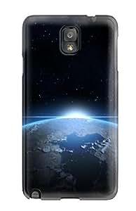 MMZ bricolaje teléfono CASETop Calidad resistente espacio fondos carcasa para Galaxy Note 3