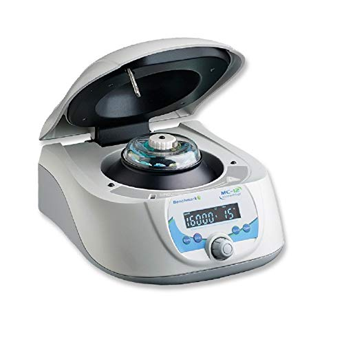 Benchmark Scientific C1612 MC-12 High Speed Microcentrifuge with 12 mL x 1.5/2.0 mL Rotor, 115V by Benchmark Scientific