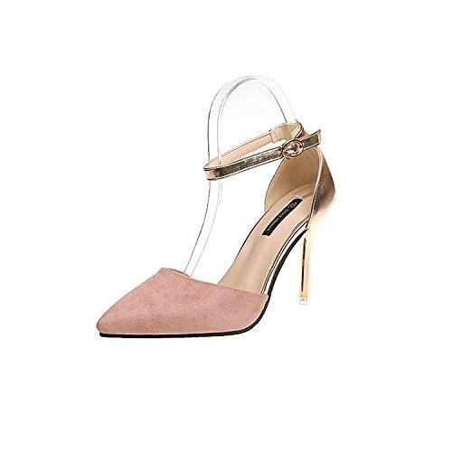punta con Ultra da femmina di Rosa marea High 36 scarpe colori moda donna Magia sandali di w1qY8YgX