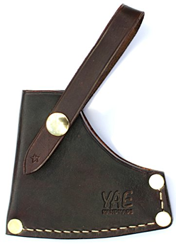 Axe Sheath for Gransfors Bruks Scandinavian Forest Axe (Dark Brown)