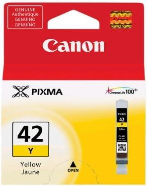 Amazon.com: Cartucho de tinta CLI-42 de Canon, Amarillo ...