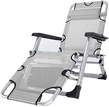 椅子、夏の昼寝リクライニングシングル大人の夏の昼寝ベッド折りたたみポータブルミニ多機能ホーム