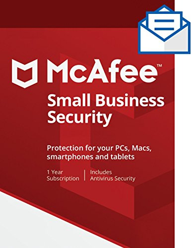 McAfee Small Business Security - 5 Devices [Activation Card by Mail] - 10 Data Protection