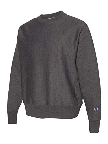 Champion - Reverse Weave Crewneck Sweatshirt - S149 (Medium, Black) (Champion Classic Reverse Weave Crewneck Sweatshirt Pink)