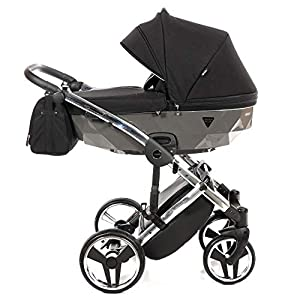 Original Junama Diamond S-Line Baby Pram Stroller Pushchair Travel System 2in1 3in1 4in1 + Umbrella + Original…
