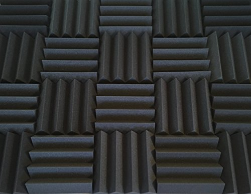bass-absorbing-wedge-style-panels-soundproofing-acoustic-studio-foam-12x12x3-tiles-2-pack-diy