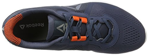 Reebok smoky Da Corsa White Orange Astroride Indigo Blu Alloy Edge Energy Duo Uomo Scarpe rZ8rUSnq