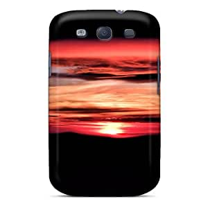 Galaxy S3 Case Cover Skin : Premium High Quality Tramonto Dal Terminillo Case