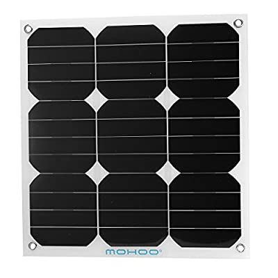Solar panel,MOHOO Thin Lightweight Solar Panel Battery Charger with MC4 Connector Charging Sunpower Cells