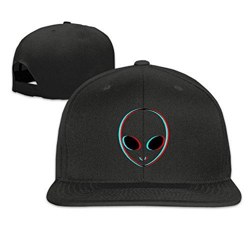 - MAGIICAP Adult Trucker Caps, Classic Trippy Alien Adjustable Hip-Hop Flat-Bill Baseball Hats