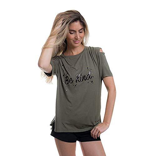 WordsCount Women's Lexi - Be Kind T-Shirt (X ()