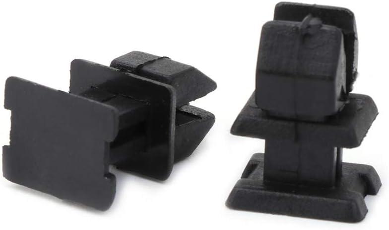 Senoow 10 Pcs Door Plastic Panel Clip Push Retainer Body Fasteners For Mercedes Benz W124 R129
