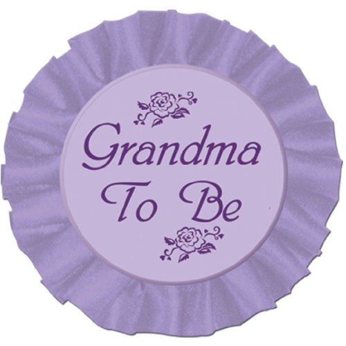 Grandma To Be Satin Button Party Accessory 1 count 1/Pkg