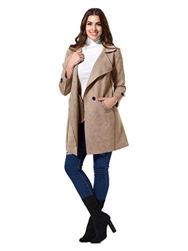 Fringed Leather Coat - 8