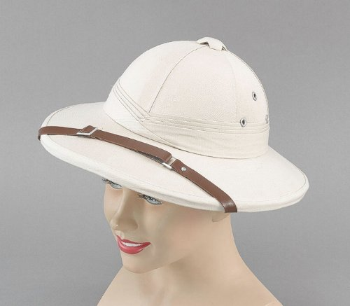(Bristol Novelty Safari Helmet Beige Hard Hats Men's One)