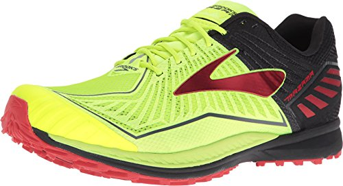 Brooks Men's Mazama Nightlife/Black/High Risk Red 10 D US
