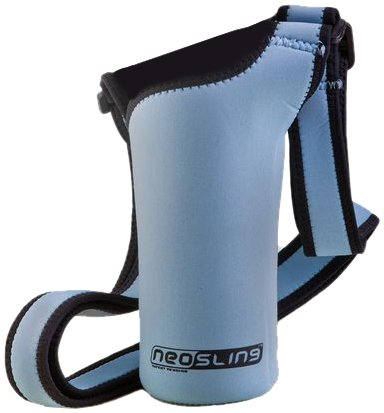 NEOSLING, Adjustable Neoprene Bottle Holder, Sky Blue by NEOSLING