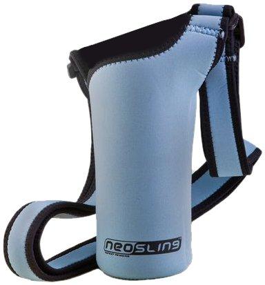 NEOSLING, Adjustable Neoprene Bottle Holder, Sky Blue