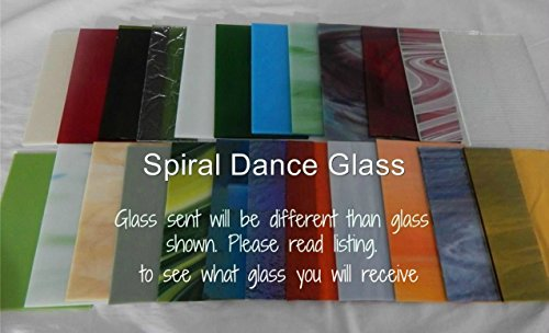 20 Sheets SPECTRUM Stained Glass 3mm (4″ x 6″) Opals Cathedrals Texture