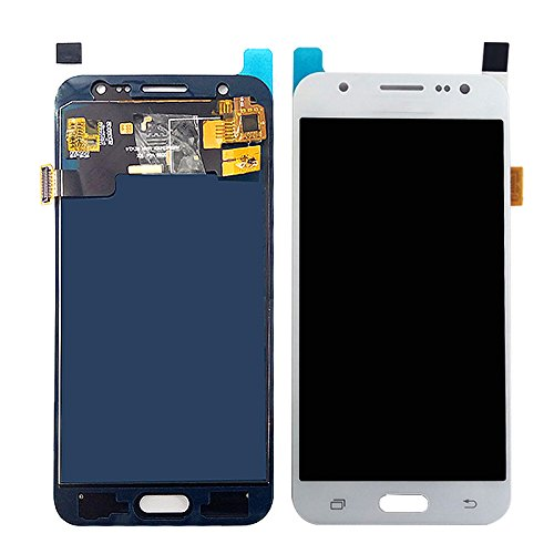 Skyline TFT LCD Touch Screen Assembly Replacement for Samsung Galaxy A5 2015 Display A500 A500F A500M A500FU Touch Screen Digitizer Assembly (White, Brightness Adjustable)