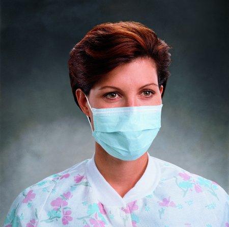 Halyard Healthcare Procedure Mask Pleated Earloops, 50ct (2 pack)