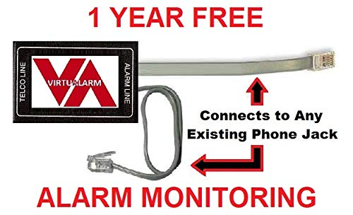 VirtuAlarm Digital Diverter Phone Line Alarm Transmitter with Free Monitoring Included.