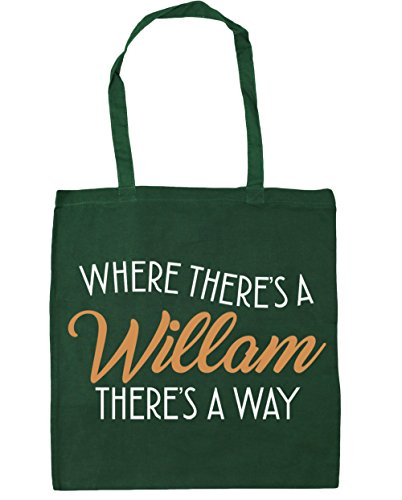 Tote x38cm Bag Bottle Willam Green There's 42cm A There's A HippoWarehouse Shopping 10 Gym Where Way litres Beach CO0PqxaSw