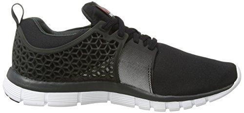 Reebok Z Dual Rush 2.0 - zapatillas de running de material sintético hombre negro - Schwarz (Black/Gravel/Silver)