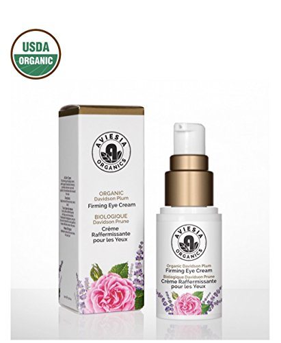Aviesia Organics Firming Eye Cream - 100% USDA Certified - Organic Skin Care for Dark Circles, Wrinkles, Puffiness and Bags - Natural Skincare 15ml / 0.5oz (15ml / 0.5 fl oz) ()