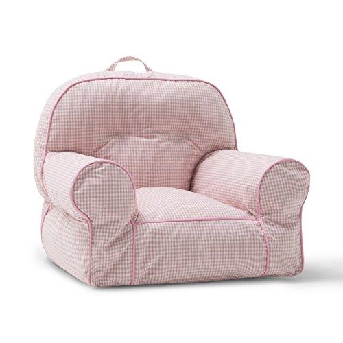 Big Joe Junior Chair, Pink Gingham by Big Joe