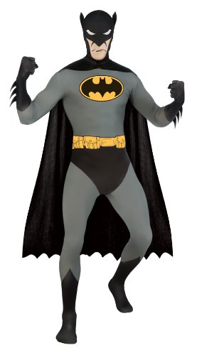 Dc Comics 2nd Skin Batman Adult Costume (Batman 2nd Skin Costume)
